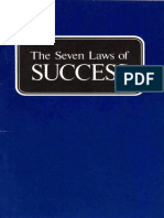 Seven Laws of Success (Prelim 1974)