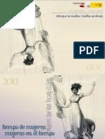 Calendario Mujeres en El Tiempo 2012