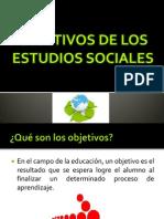Objetivos de Los Estudios Sociales.clase