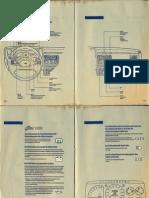 Manual Escort MK4 - Instruções Sobre o Funcionamento
