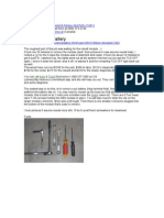 Saab 9-5 DIY ABS Module (MY 2000)