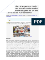 A IMPORTANCIA DO LÚDICO NO PROCESSO DE ENSINO APRENDIZAGEM