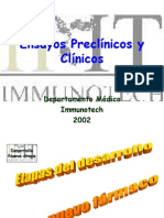 Ensayos Preclinicos y Clinicos