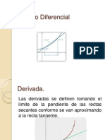 Cálculo Diferencial; Exposición