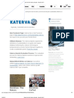News From the Katerva Awards - May 25, 2011
