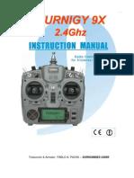 Manual Tgy 9x2