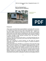A Report of BRAC Core Shelter