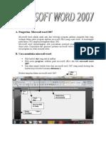 56640368 Pengertian Microsoft Word 2007