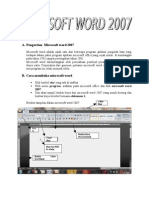 56640368 Pengertian Microsoft Word 2007