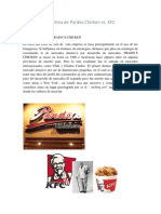 Ventaja Competitiva de Pardos Chicken Vs