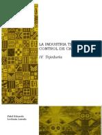 IV. La industria textil y su control de calidad