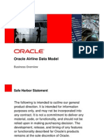 Oracle - Airlines Data Model