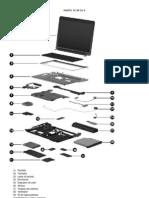 PARTES DEL PC HP DV 4