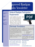 Handgun Clubs Newsletter January 2012
