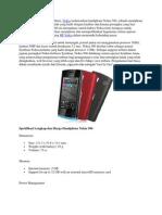 Nokia 500 Harga Dan Spesifikasi