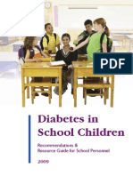 Diabetes and School Children