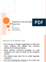 Company Law and Secretarial Practice Chapter 1