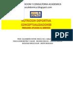 2012 - Nutricion Deportiva - Conceptualizaciones - Fisioejerc PDF