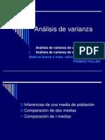 Clase 18 2009 - Analisis de La Varianza