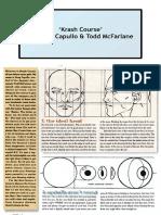 Greg Capullo-Wizard Magazine-Basic Training