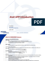 Atoll v2.2 AFP Introduction