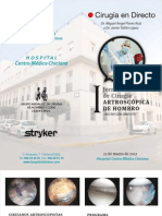 Programa Jornadas Cirugía artroscópica Chiclana