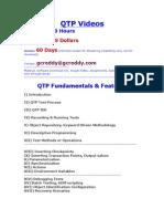 QTP Videos