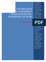What the Bible Says About Muhammad- By Ahmed Deedat
