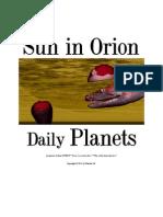 Sun in Orion