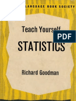 Teach Yourself Statistics
