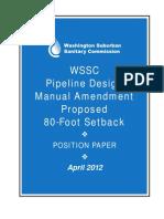 WSSCPipeLineDesign