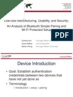 Kuo Bluetooth Pairing