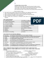 D.2011 Public Service in LT.exercises