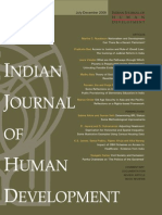 Indian Journal of Human Development-Swagato Sarkar