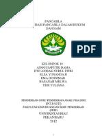 Aktualisasi Pancasila Dalam Hukum Dan Ham