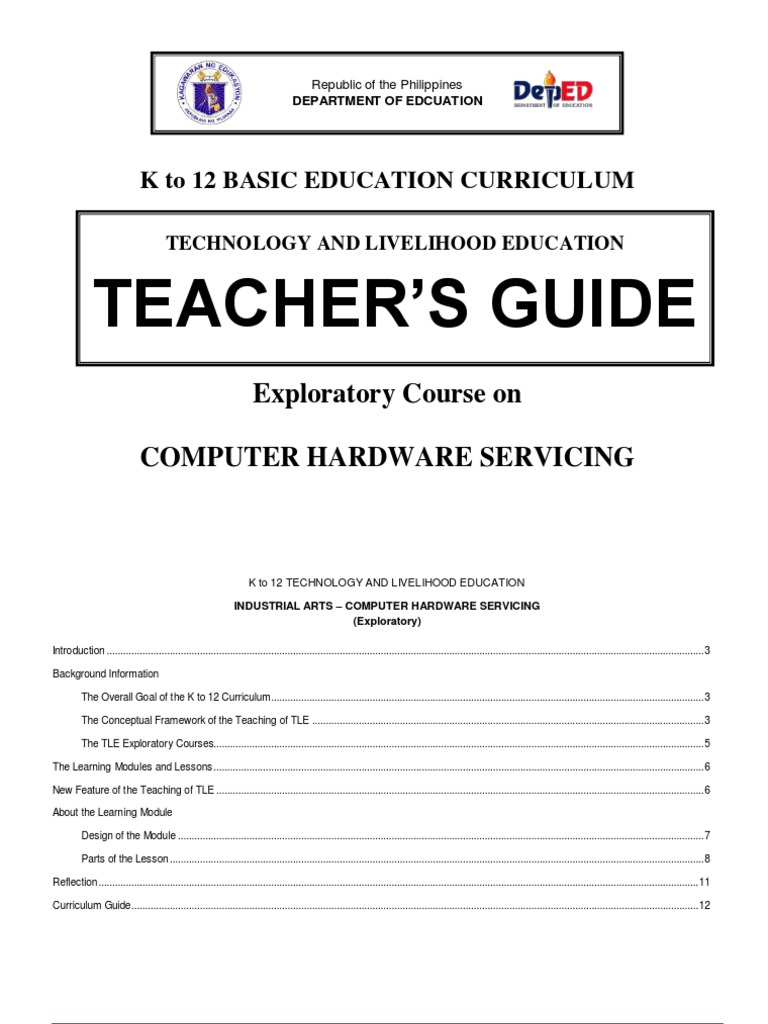 Teachers Guide Grade7 Learners Material