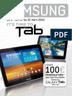 ODR Samsung Galaxy Tab Fev-Mars