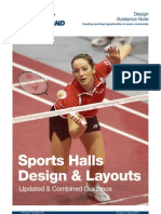 Sports Hall Design Guidance