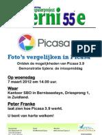 Vlugschrift Picasa 3.9 7 maart 2012