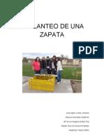 Replanteo de Una Zapata