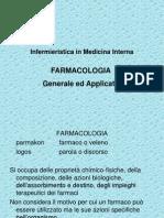 infermieristica in medicina interna FARMACOLOGIA generale e applicata