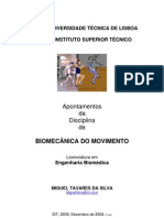 Apontamentos de Biomecânica do Movimento