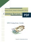 Presentation Customer Services