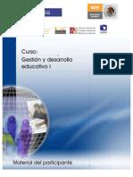 Material del Participante- gestión CURSO 2012