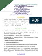 EBD 9 2º TRIMESTRE DE 2012