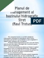 Planul de Management Al Bazinului Hidrografic Siret 7