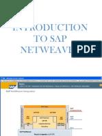 Module 1 Intro to SAP NetWeaver