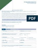 VAF4B Application Form - Returning Resident (10:2011)