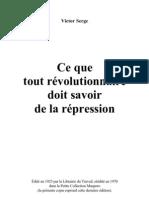 Serge Repression