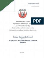 Design Standards Manual for Irrigation